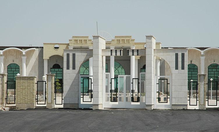 درب ورودی ترمینال مسافربری بوشهر